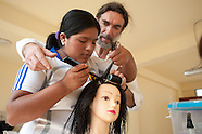Sal Giaquinta, a committed hair-dresser./ PERU