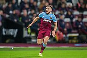 Robert Snodgrass (West Ham) during the Premier League match between West Ham United and Arsenal at the London Stadium, London, England on 9 December 2019.