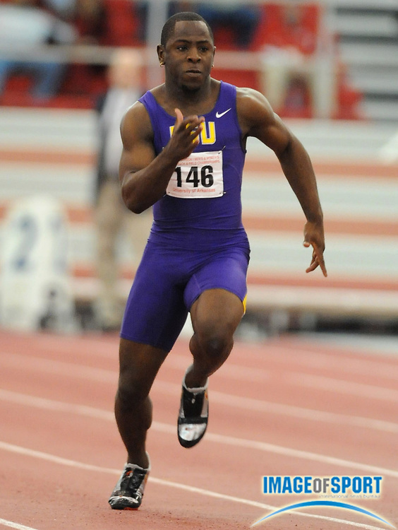 Mar 14, 2008; Fayetteville, AR, USA; in the NCAA Indoor track and field championships at the Randal Tyson Center. Mandatory Credit: Kirby Lee/Image of sport-US PRESSWIRE