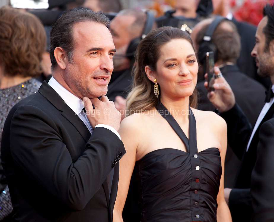 Jean Dujardin and Actress Marion Cotillard at the La Belle Epoque gala screening at the 72nd Cannes Film Festival Monday 20th May 2019, Cannes, France. Photo credit: Doreen Kennedy