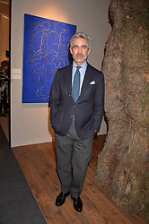 Juan Santa Cruz at the 2017 PAD Collector's Preview, Berkeley Square, London, England. 02 October 2017.