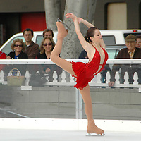 2006 National Figure Skating Champion Sasha Cohen, 23, gives an outstanding performances at 'Ice at Santa Monica' on Thursday, November 6, 2007, during its opening day. She also signed autographs and made a speech during opening day.  Cohen is currently headlining in the Stars on Ice tour.