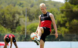 Bristol City new signing Hordur Manusson   - Mandatory by-line: Joe Meredith/JMP - 19/07/2016 - FOOTBALL - Bristol City pre-season training camp, La Manga, Murcia, Spain