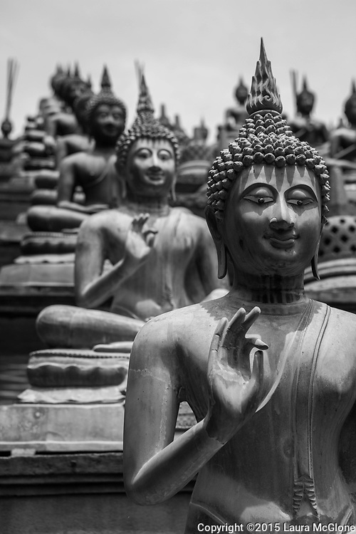 Buddha Statues in Colombo, Sri Lanka