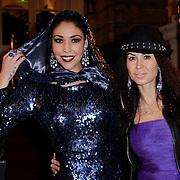NLD/Amsterdam/20121112 - Beau Monde Awards 2012, Hind Laroussi en Graziella Ferraro