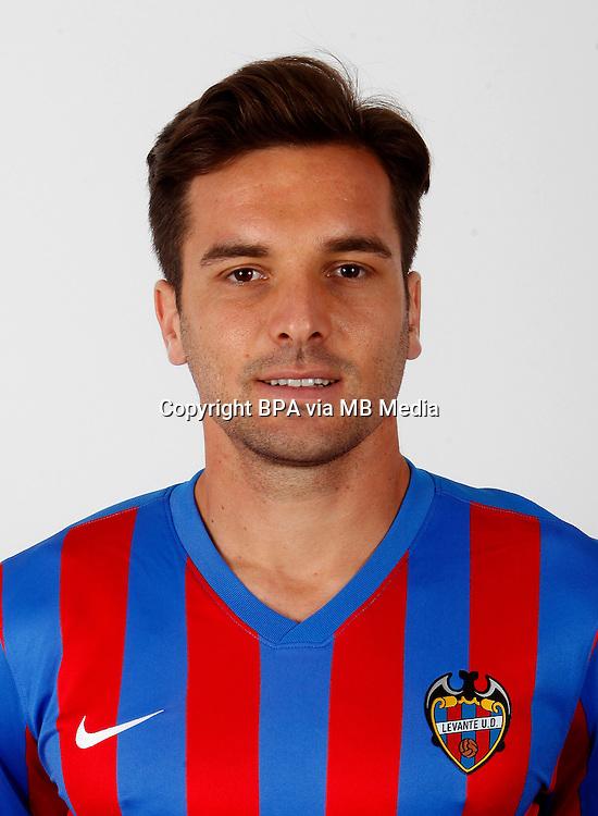 Spain - La Liga BBVA  2014-2015 / <br /> ( Levante U.D. ) - <br /> Antonio Garcia Aranda &quot; Tono Garcia &quot;