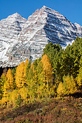 Maroon Bells in Fall