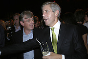 STEVEN LOWY AND  SIR PHILIP GREEN, Westfield launch at the BFC tent prior toLondon Fashion week. 17 September 2006. ONE TIME USE ONLY - DO NOT ARCHIVE  © Copyright Photograph by Dafydd Jones 66 Stockwell Park Rd. London SW9 0DA Tel 020 7733 0108 www.dafjones.com