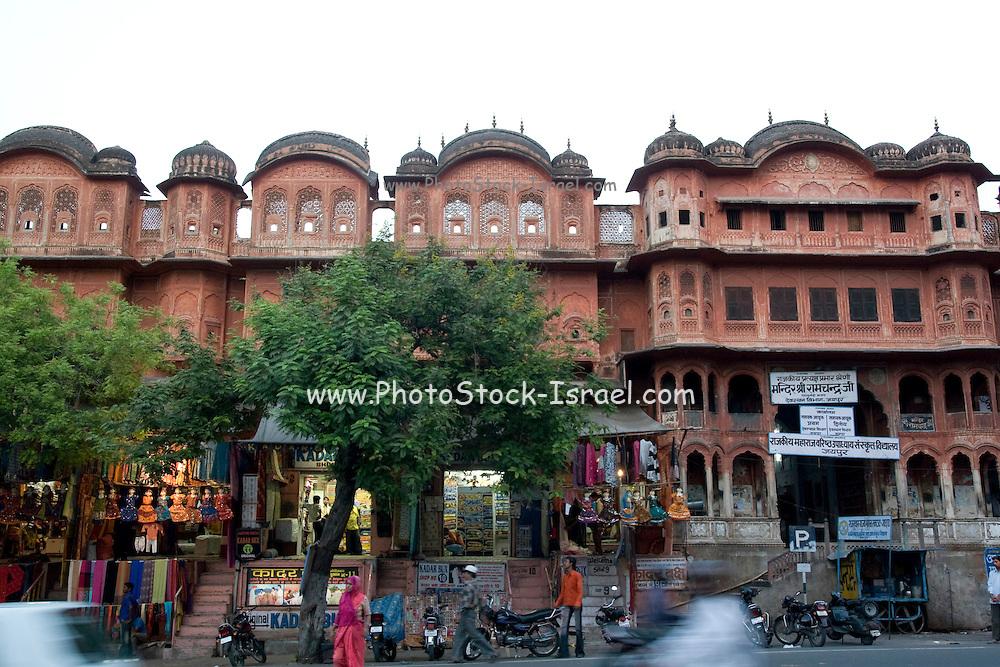 India, Rajasthan, Jaipur city centre