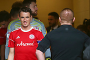 Accrington Stanley midfielder Sean McConville (11) during the EFL Sky Bet League 1 match between Burton Albion and Accrington Stanley at the Pirelli Stadium, Burton upon Trent, England on 23 March 2019.