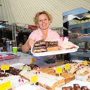 01/09/2017<br /> <br /> Pictured enjoying the Limerick Urban Food Fest, the opening event of the Pigtown Food &amp; Culture Series at the Milk Market, Limerick, is Ecaterina Moiesi from Moiesi Cakes.<br /> Picture: Diarmuid Greene/Alan Place Photography