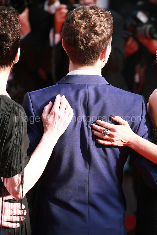 Director Xavier Dolan at the Palme d'Or  Closing Awards Ceremony red carpet at the 67th Cannes Film Festival France. Saturday 24th May 2014 in Cannes Film Festival, France.