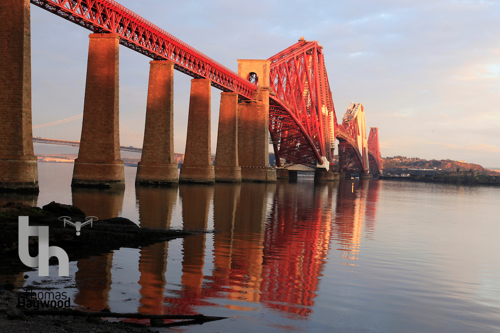 Firth of the Forth Railway Bridge Edinburgh