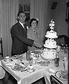 1952 Wedding of Miss O'Dwyer at North William St. Church