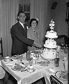 1952 Wedding of Miss O'Dwyer at North William St. Church