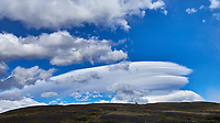 Clouds in Torres del Paine National Park. Image taken with a Fuji X-T1 camera and 23 mm f/1.4 lens.