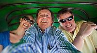NEW DELHI India ; media , journalist,<br /> Noor Tonkens ,Koern Suyk en Norbert Kleinherenbrink.
