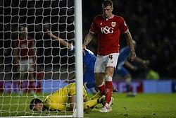 Goal, Brighton's Sam Baldock scores, Brighton & Hove Albion 1-1 Bristol City - Mandatory byline: Jason Brown/JMP - 07966 386802 - 20/10/2015 - FOOTBALL - American Express Community Stadium - Brighton,  England - Brighton & Hove Albion v Bristol City - Championship