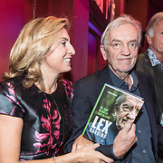 NLD/Bussum/20190306  - boekpresentatie 50 jaar Nederlandse popcultuur van Lex Harding, Lex Harding en partner Fariba