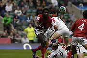 Twickenham, England. England's, during the match at the London Sevens Rugby, Twickenham Stadium, 26/05/2007 [Credit, Peter Spurrier/ Intersport Images]