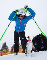 07.02.2013, Planai, Schladming, AUT, FIS Weltmeisterschaften Ski Alpin, 2. Training, Abfahrt, Damen, im Bild Anna Fenninger (AUT) // Anna Fenninger of Austria before  2nd practice of the ladies Downhill at the FIS Ski World Championships 2013 at the Planai Course, Schladming, Austria on 2013/02/07. EXPA Pictures © 2013, PhotoCredit: EXPA/ Johann Groder