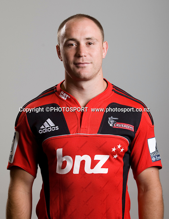 Willi Heinz. Canterbury Crusaders Team 2012 Headshots, Rugby Park, Christchurch, Tuesday 22 November 2011. Photo : Joseph Johnson/www.photosport.co.nz