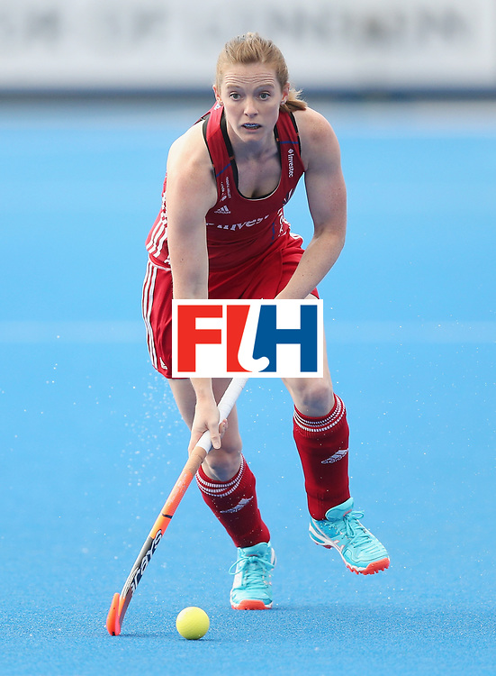 LONDON, ENGLAND - JUNE 21:  Helen Richardson-Walsh of Great Britain during the FIH Women's Hockey Champions Trophy match between New Zealand and Great Britain at Queen Elizabeth Olympic Park on June 21, 2016 in London, England.  (Photo by Alex Morton/Getty Images)