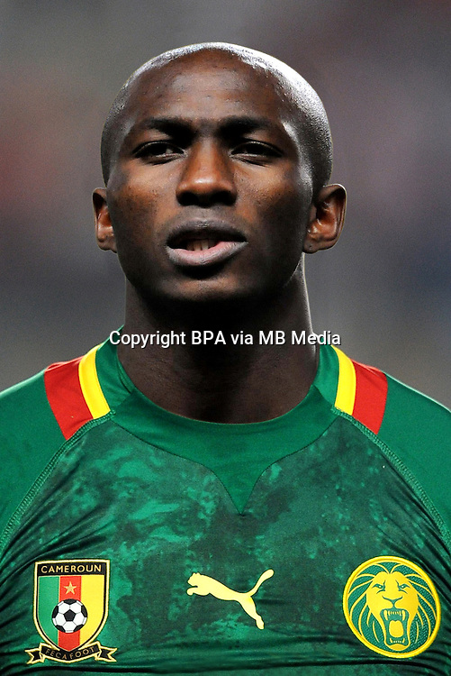 Football Fifa Brazil 2014 World Cup / <br /> Cameroon National Team - <br /> Stephane MBIA of Cameroon