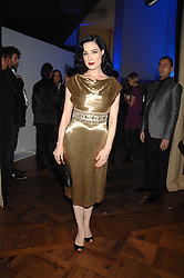 DITA VON TEESE at the British Fashion Awards 2007 held at the Royal Horticultural Halls, Vincent Square, London on 28th November 2007.<br />