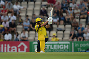 Chris Wood of Hampshire batting during the Vitality T20 Blast South Group match between Hampshire County Cricket Club and Middlesex County Cricket Club at the Ageas Bowl, Southampton, United Kingdom on 20 July 2018. Picture by Dave Vokes.