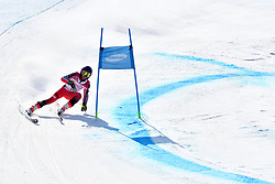 GUIMOND Alexis LW9-1 CAN competing in ParaSkiAlpin, Para Alpine Skiing, Super G at PyeongChang2018 Winter Paralympic Games, South Korea.