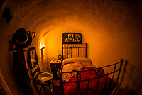 Cuevas de Guadix Centro de Interpretacion is a small museum that shows how people lived in earlier times in caves (as they still do there), Guadix,