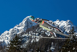 Michael Hayboeck (AUT) during the Trial Round of the Ski Flying Hill Individual Competition at Day 1 of FIS Ski Jumping World Cup Final 2019, on March 21, 2019 in Planica, Slovenia. Photo by Masa Kraljic / Sportida