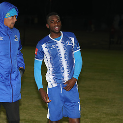 DURBAN, SOUTH AFRICA - AUGUST 23: Arthur Bartman - Goalkeeper Coach of Maritzburg Utd during the Absa Premiership match between Maritzburg United and Ajax Cape Town at Harry Gwala Stadium on August 23, 2017 in Durban, South Africa. (Photo by Steve Haag/Gallo Images)