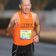 Bill Shires participates in Race 13.1 Sunday February 22, 2015 in Wilmington, N.C. (Jason A. Frizzelle)