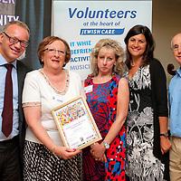 Jewish Care Volunteer Awards 18.07.2013