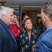 NLD/Amsterdam/20190308 - Boekpresentatie Gerard van der Lem, Gerard en Louis van Gaal en partner Truus Opmeer