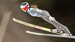 February 8, 2019 - Lisa Eder of Austria on first competition day of the FIS Ski Jumping World Cup Ladies Ljubno on February 8, 2019 in Ljubno, Slovenia. (Credit Image: © Rok Rakun/Pacific Press via ZUMA Wire)