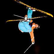 Jon Olsson with his Kangaroo Flip at night.