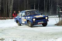 Motorsport, Rally Solør 2000.TPer Otto Sigfridstad / Jan-Roger Sigfridstad. KNA Solør Motorsport. Ford escort kl. 12.  Foto: Digitalsport, Jan A. Holshagen
