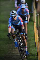 October 20, 2018 - Boom, France - PAUWELS Kevin (BEL) of MARLUX - BINGOAL in action during the 2nd leg of the men elite and U23 Telenet Superprestige cyclocross race (Credit Image: © Panoramic via ZUMA Press)
