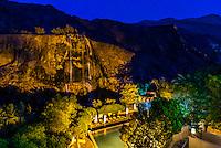 Swimming pool, Evason Ma'in Hot Springs Resort, Jordan.