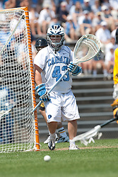 09 May 2009: North Carolina Tar Heels goalkeeper James Petracca during a 15-13 win over the University of Maryland - Baltimore County Retrievers on Fetzer Field in Chapel Hill, NC.