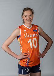 10-05-2018 NED: Team shoot Dutch volleyball team women, Arnhem<br /> Lonneke Sloetjes #10 of Netherlands