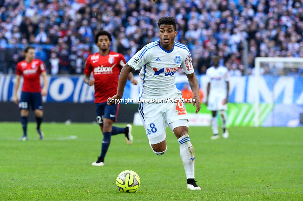 Mario LEMINA - 21.12.2014 - Marseille / Lille - 19eme journee de Ligue 1 -<br />Photo : Gaston Petrelli / Icon Sport