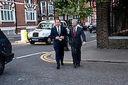 DAVID ROSS; ALAN DUNCAN, Conservative Summer Party. Royal  Hospital Chelsea. London.  5 July 2010. -DO NOT ARCHIVE-© Copyright Photograph by Dafydd Jones. 248 Clapham Rd. London SW9 0PZ. Tel 0207 820 0771. www.dafjones.com.