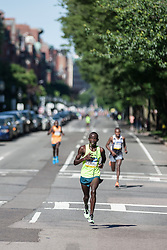 Boston Athletic Association 10K road race: Stephen Sambu takes lead with one mile to go