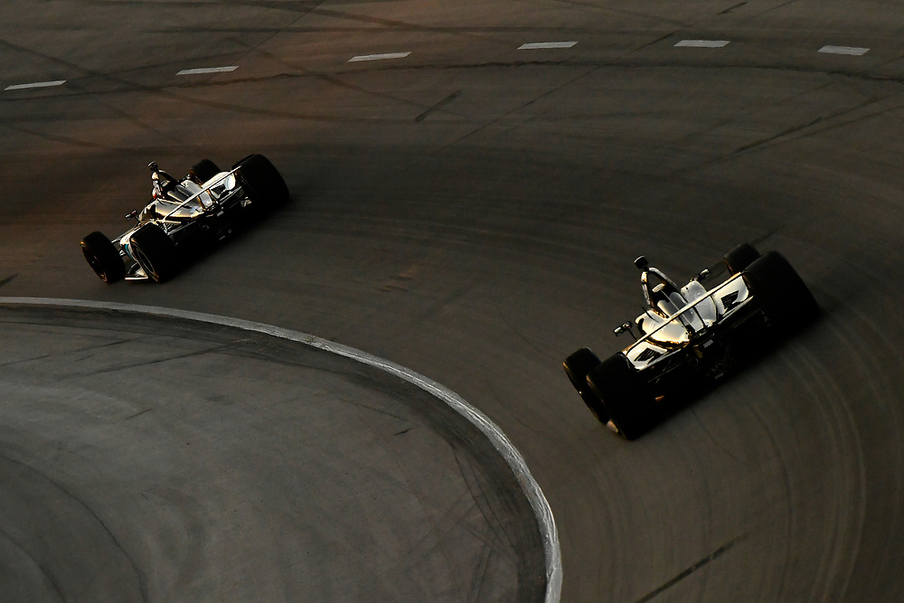 Graham Rahal, Rahal Letterman Lanigan Racing Honda, Ed Carpenter, Ed Carpenter Racing Chevrolet
