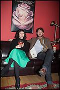 SERENA KUTCHINSKY; FELIX LOWE, Opening of the Trouble Club., Lexington St. Soho London. 6 November 2014