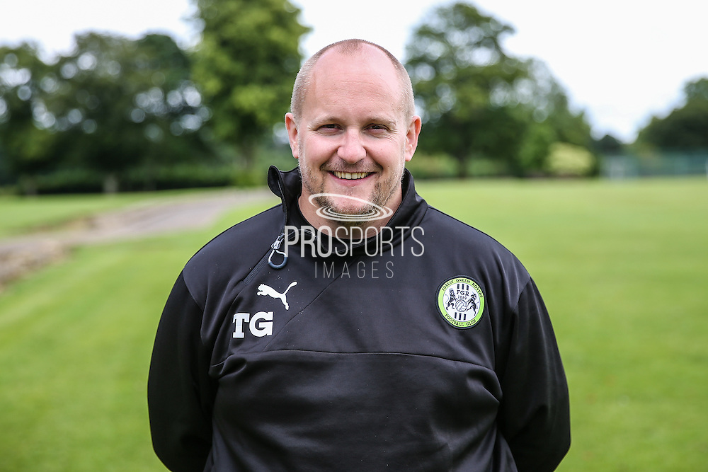 Forest Green Rovers kit manager Tim Grigg during the Forest Green Rovers Training at the Cirencester Agricultural College, Cirencester, United Kingdom on 12 July 2016. Photo by Shane Healey.